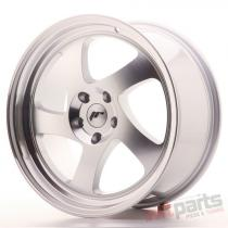 Japan Racing JR15 18x8,  5 ET40 5x112 Machined Silver JR1518855L4066S