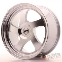 Japan Racing JR15 18x8,  5 ET20-40 Blank Machined Silver JR151885XX2074S