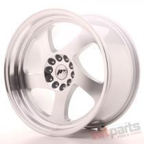 Japan Racing JR15 18x9,  5 ET22 5x114/120 Machined Silver JR151895MG2274S
