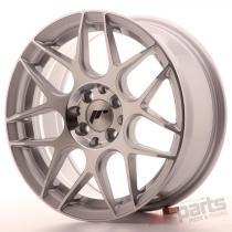 Japan Racing JR18 16x7 ET25 4x100/108 Silver Machined JR18167142573SM