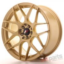 Japan Racing JR18 18x8,  5 ET35 5x100/120 Gold JR181885MZ3574GD