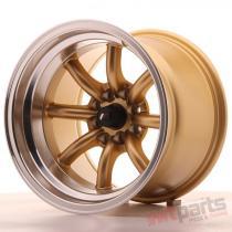 Japan Racing JR19 15x10,  5 ET-32 4x100/114 Gold JR19151054M3273GDL
