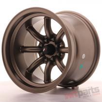Japan Racing JR19 15x10,  5 ET-32 4x100/114 Bronze JR19151054M3273MBZ