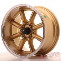 Japan Racing JR19 15x8 ET0 4x100/114 Gold JR19158040073GDL
