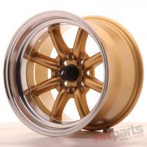 Japan Racing JR19 15x9 ET-13 4x100/114 Gold JR1915904M1373GDL