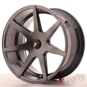 Japan Racing JR20 19x9,  5 ET20-40 Blank Hyper Black JR201995XX2072HB