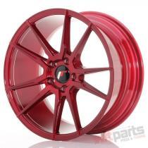 Japan Racing JR21 18x8,  5 ET40 5x112 Platinum Red JR2118855L4066RP1
