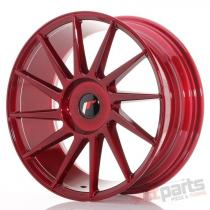 Japan Racing JR22 18x7,  5 ET35-42 Blank Platinum Red JR221875XX3574RP1