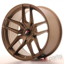 Japan Racing JR25 19x9,  5 ET20-40 5H Blank Bronze JR2519955X2074BZ