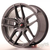 Japan Racing JR25 19x9,  5 ET20-40 5H Blank Hyper Black JR2519955X2074HB