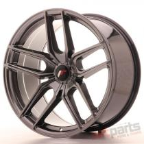 Japan Racing JR25 20x10 ET20-40 5H Blank Hyper Black JR2520105X2074HB