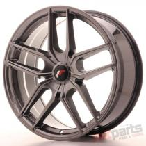 Japan Racing JR25 20x8,  5 ET20-40 5H Blank Hyper Black JR2520855X2074HB