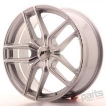 Japan Racing JR25 20x8,  5 ET20-40 5H Blank Silver JR2520855X2074SM