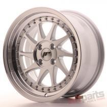 Japan Racing JR26 16x8 ET30 4x100 Mach Silver JR2616804H3067SM