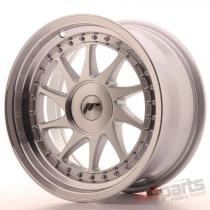 Japan Racing JR26 16x8 ET10-30 Blank Mach Silver JR261680XX1067SM