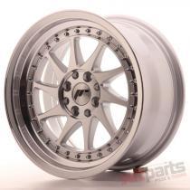 Japan Racing JR26 16x8 ET25 4x100/108 Mach Silver JR26168142567SM