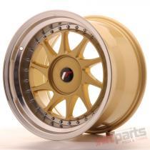 Japan Racing JR26 17x10 ET20-25 Blank Gold JR261710XX2074GDL
