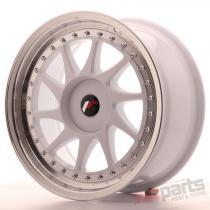 Japan Racing JR26 17x8 ET35 Blank White JR261780XX3574WL