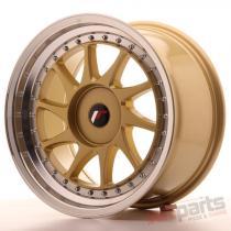 Japan Racing JR26 17x9 ET20-35 Blank Gold JR261790XX2074GDL