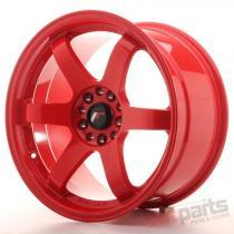 Japan Racing JR3 18x9,  5 ET15 5x114,  3/120 Red JR31895151574R