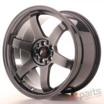 Japan Racing JR3 18x9,  5 ET22 5x114,  3/120 Hyper Black JR31895MG2274HB