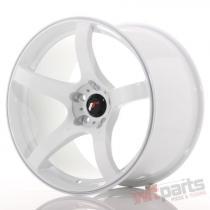 Japan Racing JR32 18x10,  5 ET22 5x114,  3 White - JR3218105H2274W