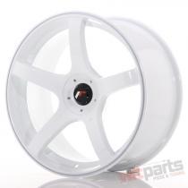Japan Racing JR32 18x8,  5 ET20-38 5H Blank White - JR3218855X2072W