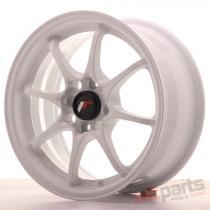 Japan Racing JR5 15x7 ET35 4x100 White JR515704H3573W