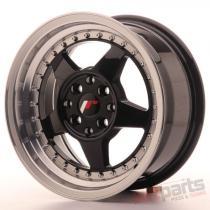 Japan Racing JR6 15x7 ET25 4x100/108 Glossy Black JR6157142567GBL