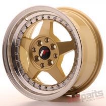 Japan Racing JR6 15x7 ET25 4x100/108 Gold JR6157142567GDL