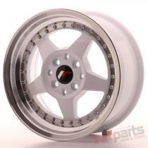 Japan Racing JR6 15x7 ET25 4x100/108 White JR6157142567WL