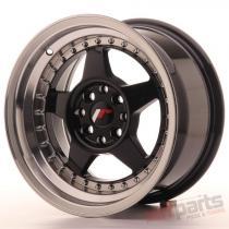 Japan Racing JR6 15x8 ET25 4x100/108 Glossy Black JR6158142573GBL