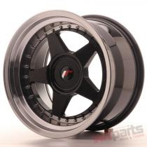 Japan Racing JR6 17x10 ET20 Blank Glossy Black JR61710XX2074GBL