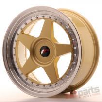 Japan Racing JR6 17x8 ET20-35 Blank Gold JR61780XX2074GDL