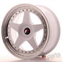 Japan Racing JR6 17x8 ET20-35 Blank White JR61780XX2074WL