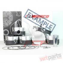 AUDI / VW 1.8T 20V STROKER WISECO PISTONS CR 8.5 81.5MM KE200M815