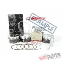 AUDI / VW 1.8T 20V STROKER WISECO PISTONS CR 8.5 82MM KE200M82