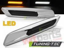 BMW E60/ E90/ E92/ E82 LED F10 STYLE SMOKE SILVER CHROME KBBM33