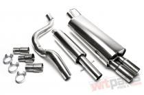 Complete exhaust kit Audi A3,  Seat Leon,  Golf IV EVOG4AE276