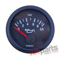 VDO Oil pressure gauge 10 Bar 52mm 12V - VDO-350-010-015K