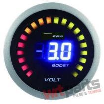 DEPO gauge 2in1 - TURBO,  VOLT DP-ZE-058