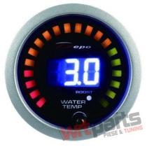 DEPO gauge 2in1 - TURBO,  WATER TEMP DP-ZE-056