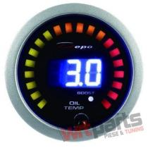 DEPO gauge 2in1 - TURBO,  OIL TEMP DP-ZE-057