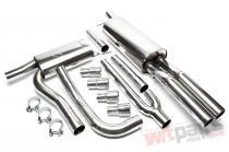 Complete exhaust kit Audi A4 B5 EVOA4AE276