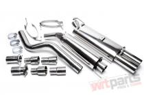 Complete exhaust kit Opel Astra F EVOAFAE276