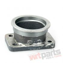 """Downpipe T3 3"""" V-Band cast CN-AT-064"""