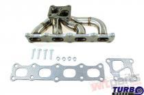 Exhaust manifold MITSUBISHI LANCER EVO X Steel PP-KW-116
