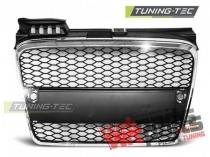 Plastic Cromed Debadged radiator grille Audi A4 GRAU22