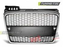Plastic Debadged radiator grille Audi A4 GRAU23