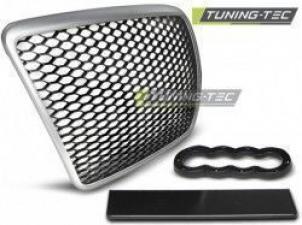 Plastic Debadged radiator grille Audi A6 GRAU15